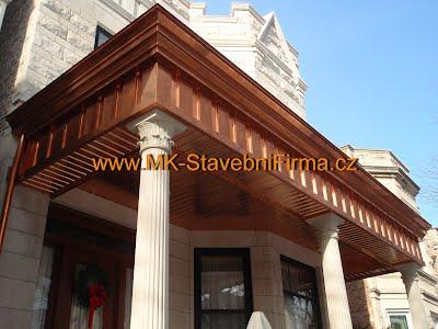 Klempířské prvky a rekonstrukce historických budov