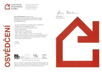 Navrhování pasivních a nulových domů – Centrum pasivního domu