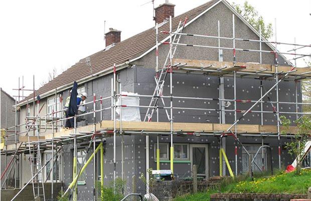 Zateplování fasád rodinných domů a budov